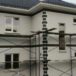 Отделочные работы фасадов зданий