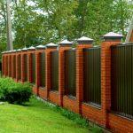 Основные виды заборов для загородного дома