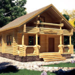 Как построить дом из бревна ?