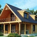 Как построить крышу с мансардой?