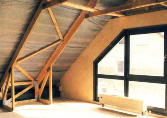 How to build an attic?