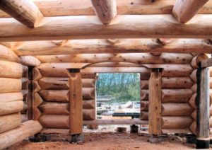 How to build a log house ?