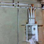 Разводка электричества
