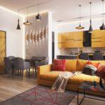 Квартиры-студии: преимущества и дизайнерские решения